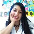 Profesora de inicial reparte clases a niños de 3,4,5 y primer grado