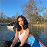 Jeune tutrice d'anglais sur Paris ou cours en ligne