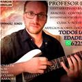 Clases guitarra piano canto bajo batería ukelele armonía contrapunto lenguaje musical y producción musical