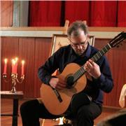 professeur de guitare, diplomé du cnr de Lyon