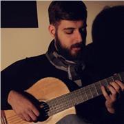 Cours de guitare et d'harmonie par professeur dimplômé avec expérience en Espagne, Grèce et en Italie