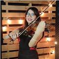 Maestra de música especializada en violín, clases particulares a cualquier edad