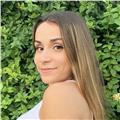 Profesora nativa española y valenciana. nivel de inglés intermedio/alto y francés básico