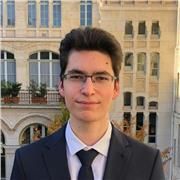 Étudiant en fin de classe prépa ECS donne cours de maths du collège au lycée sur Paris