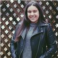 Chica graciosa, paciente y muy agradable ofrece ayuda para aprender mejor gallego